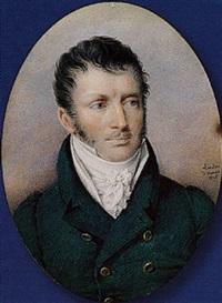 Friedrich <b>Johann Gottlieb</b> (Franz) Lieder - friedrich-johann-gottlieb-(franz)-lieder-a-portrait-of-klemens-f%C3%BCrst-von-metternich,-with-small-moustache,-wearing-double-breasted-blue-coat