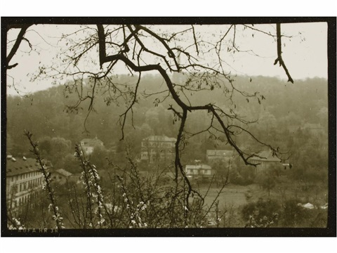 petrin hill in prague by josef sudek