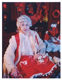 mrs claus by cindy sherman