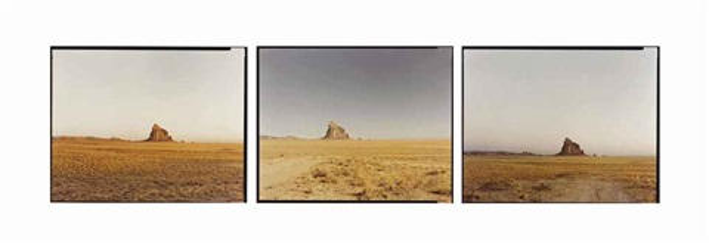 shiprock (triptych) by richard misrach