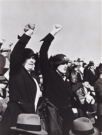le front populaire by robert capa