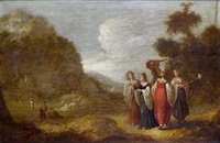 the vestal virgins by rombout van troyen