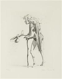 the beggar's alm by john currin