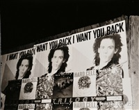 i want you back, signs, new york city by andy warhol
