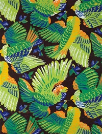parrots by raoul dufy