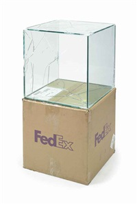 fedex ® large kraft box © fedex 330508 rev 10/05 sscc (in 2 parts) by walead beshty
