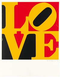 the german love (from graphik usa) by robert indiana
