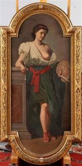 allégorie de la peinture by alfred jacob miller