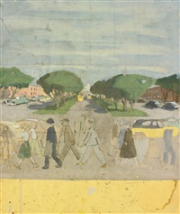 promenade: three works by fairfield porter