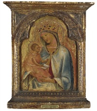 the madonna and child by lorenzo veneziano