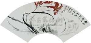 兰石图 by zhang daqian