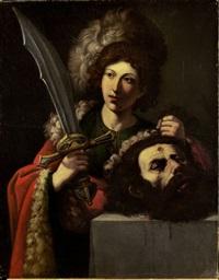 davide con la testa di golia by lionello spada