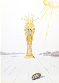 barometer woman (barometer) from time by salvador dalí