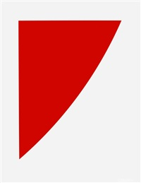red curve (radius of 8') by ellsworth kelly