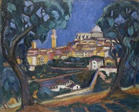 view of siena by arthur kaufmann