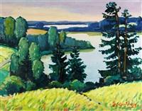 the lake by vitolds svirskis
