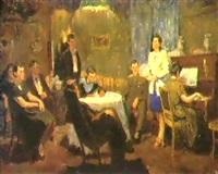 le salon de musique by dimitri nekrasov