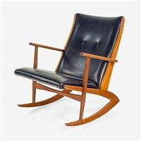 kubus rocking chair by georg jensen (co.)