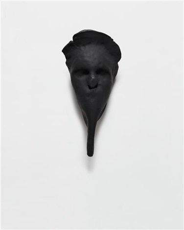 untitled mask by hannah wilke