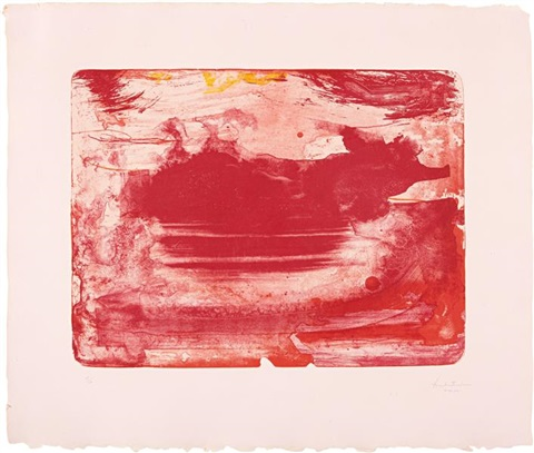 the red sea by helen frankenthaler