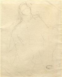figural sketch by mary cassatt