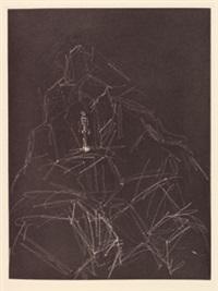 rené char. retour amont (mit 4) by alberto giacometti