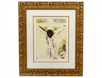 tolle, tolle, crucifige cum/away with him, crucify him by salvador dalí