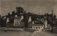 the quai & castle by henri jannot