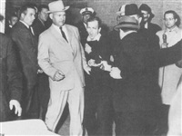 lee harvey oswald...being shot by jack ruby by robert h. (bob) jackson