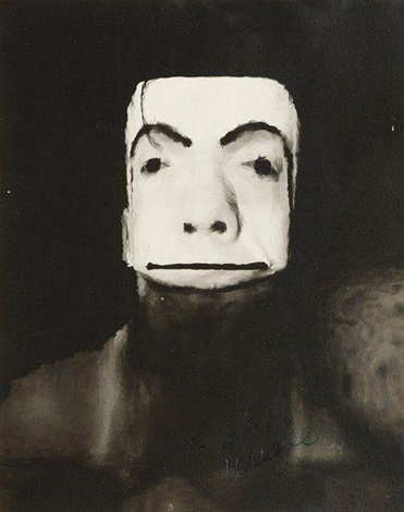 distortion jimmy armstrong the clown by weegee