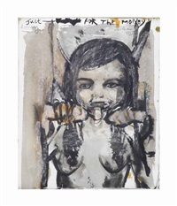 just for the money, honey by marlene dumas