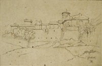 vue de frascati by théodore claude félix caruelle d' aligny