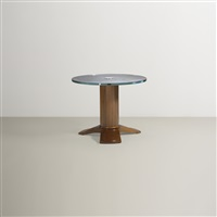occasional table from s.s. normandie by jules leleu