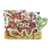 pergusa (from the circuit series) by frank stella
