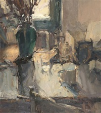still life by a window by jordan wolfson