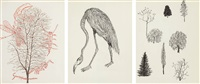 untitled - crane and plant life (in 3 parts) by merce cunningham
