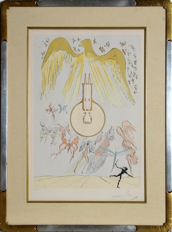lampoule incandesence from homage to leonardo da vinci by salvador dalí