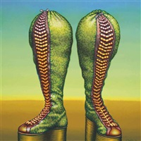 bag boots by ed paschke