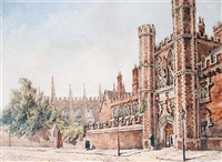 gateway to st. johns college cambridge by joseph murray ince