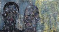 two heads ii by leon golub