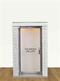 the 1:6 scale wrong gallery by maurizio cattelan