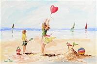launching the balloon by lorna millar