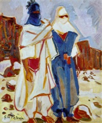 hommes du hoggar by georges le poitevin