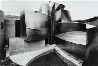 gugghenheim museum bilbao - unique by gabriele basilico
