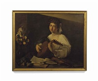 the lute player by michelangelo merisi da caravaggio