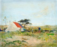 the fishing house in dunes by ivan pavlovich pokhitonov