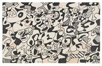 parade funebre pour charles estienne: texte logologique ix, m.327 by jean dubuffet