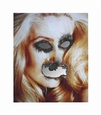 self-portrait of you + me (catherine deneuve) by douglas gordon