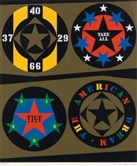 the american dream (from decade) by robert indiana