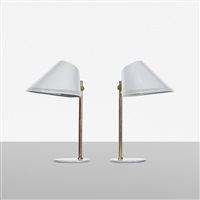 table lamps model 9227 (pair) by paavo tynell